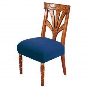 Funda silla - Azul - Cuadrado