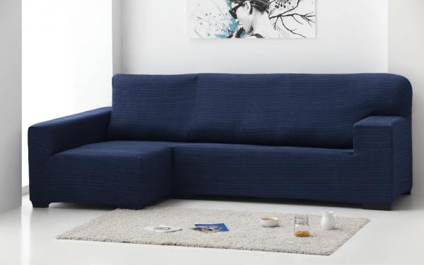 Funda sofa Chaise Longue Dcha - Azul