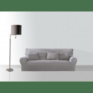 Sofa 3 Gris Cuadrado